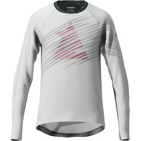 Zimtstern ProTechZonez Maglietta A Maniche Lunghe Uomo, bianco
